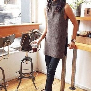 Aritzia Wilfred Sleeveless Turtleneck Sweater